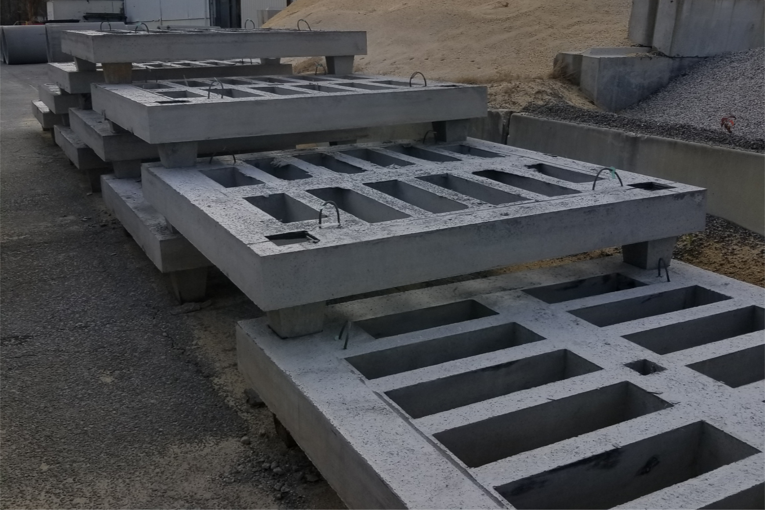 Precast Concrete Oyster Reef – produced in CP&P Chesapeake, VA facility